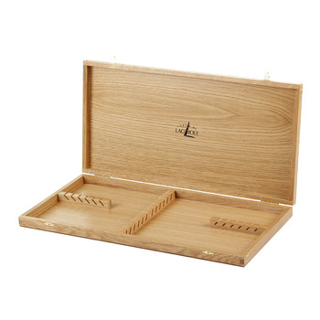 Light Oakwood Box - Holds Set of 24