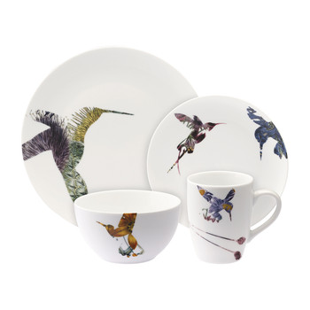 Flutter 16 Piece Dinner Set