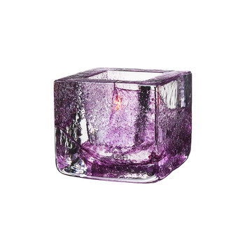 Brick Votive - Purple