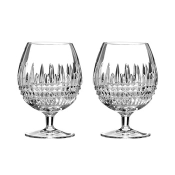 Lismore Diamond Brandy Glasses - Set of 2