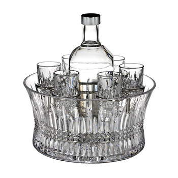 Lismore Diamond Vodka Set