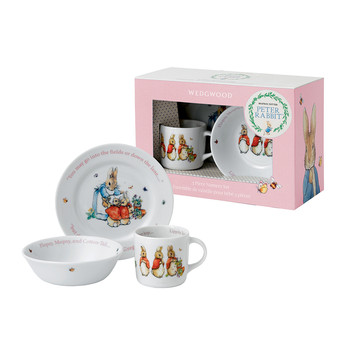 Peter Rabbit Girl's 3 Piece Set