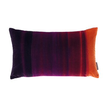 Amazilia Velvet Cushion - 35x60cm - Papaya / Raspberry