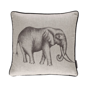 Savanna Cushion - 43x43cm - Linen