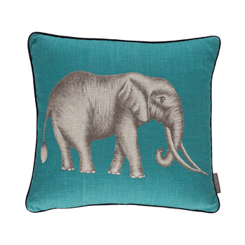 Savanna Cushion - 43x43cm - Jade
