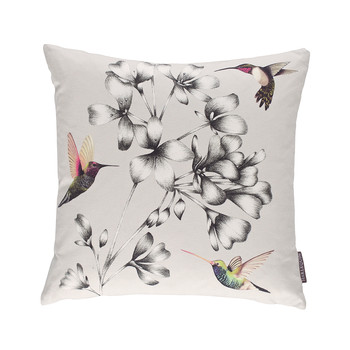 Amazilia Floral Cushion - 43x43cm - Linen