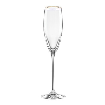 Orleans Square Gold Champagne Flute