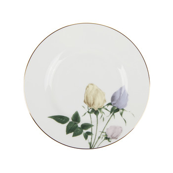 Rosie Lee Bread & Butter Plate - White