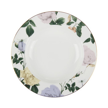 Rosie Lee Rimmed Soup Plate