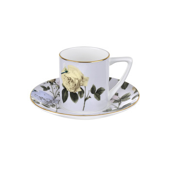 Rosie Lee Espresso Cup & Saucer - Lilac
