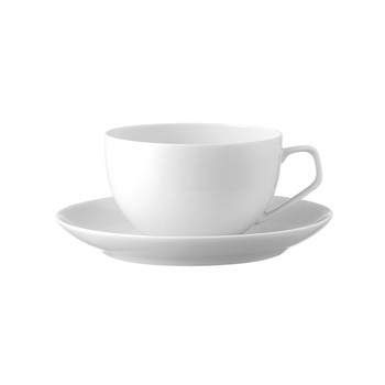 Tac White - Cup & Saucer