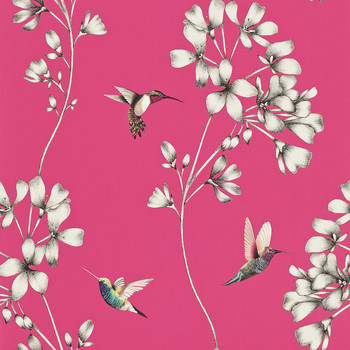Amazilia Wallpaper - Flamingo - 111058