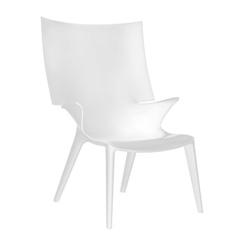 Uncle Jim Armchair - White