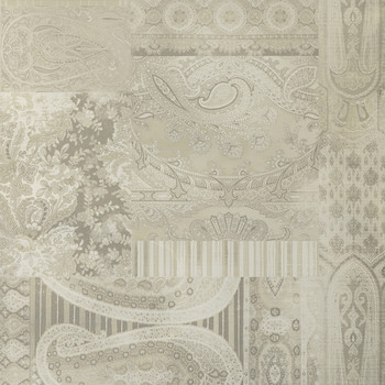 Lomond Wallpaper - FG082.J80.0 Silver / Taupe