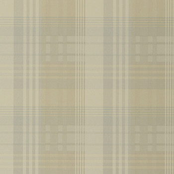 Mulberry Ancient Tartan Wallpaper - FG079.J102.0 Ivory / Dove