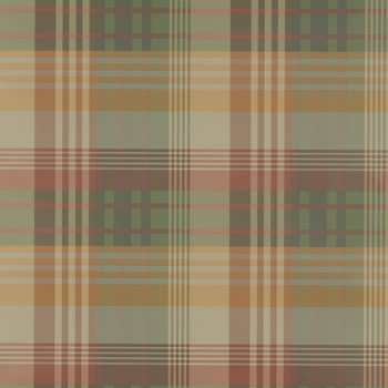 Mulberry Ancient Tartan Wallpaper - FG079.T30.0 Spice