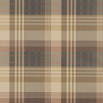Mulberry Ancient Tartan Wallpaper - FG079.V78.0 Red / Charcoal