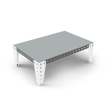 Coffee Table - Grey/White