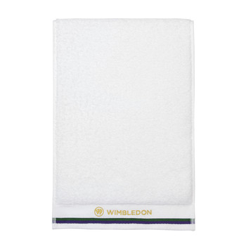 Wimbledon Sports Towel - White