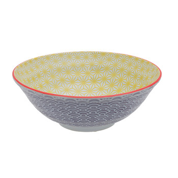 Starwave Noodle Bowl - Wave - Yellow/Purple