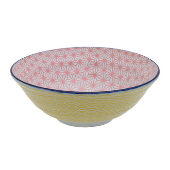 Starwave Noodle Bowl - Wave - Pink/Yellow
