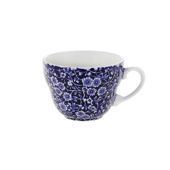 Blue Calico Breakfast Cup