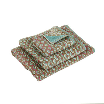 Blooming Tails Towel - Khaki