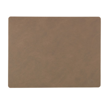 Table Mat Rectangle - Brown - Large
