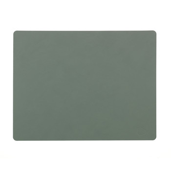 Table Mat Rectangle - Pastel Green - Large