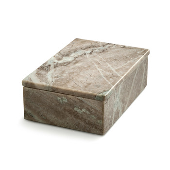 Brown Marble Box