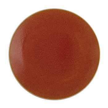 Tourron Round Dish - Orange