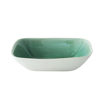 Maguelone Deep Plate - Large - Emerald