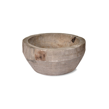 Bothy Bowl - Gray Wash - Wooden