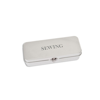 Sewing Tin - Chalk