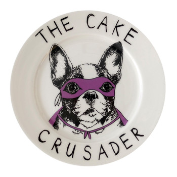 'The Cake Crusader' Side Plate