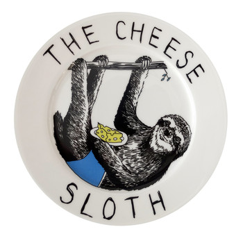 'The Cheese Sloth' Side Plate