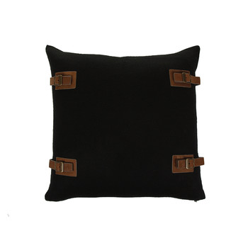 Luxe Lodge Pillow - 50x50cm - Black