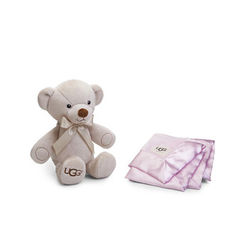 Baby Snuggle Gift Set - Baby Pink