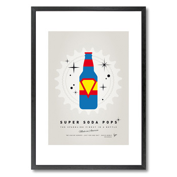 My Super Soda Pops Superman Print