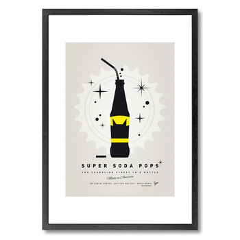 My Super Soda Pops Batman Print