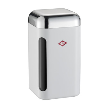 Square Canister - 1.65L - White