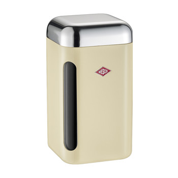 Square Canister - 1.65L - Almond