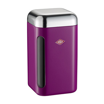 Square Canister - 1.65L - Purple