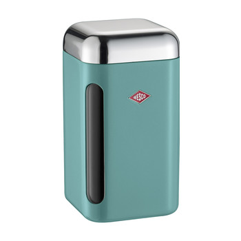 Square Canister - 1.65L - Turquoise