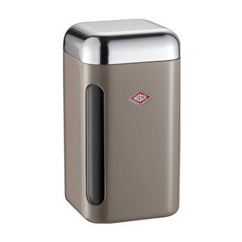 Square Canister - 1.65L - Warm Gray