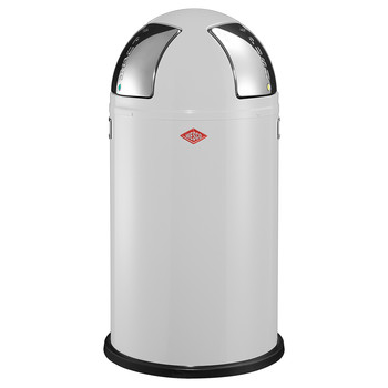 Push Two Bin - 50L - White