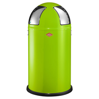 Push Two Bin - 50L - Lime Green