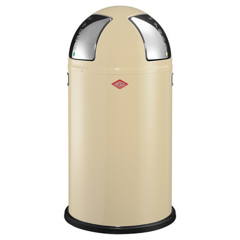 Push Two Bin - 50L - Almond