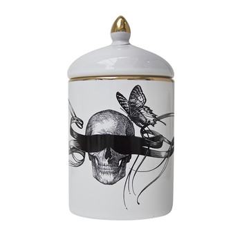 Masked Skull Cosy Candle - 280g