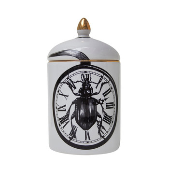 Beetle Clock Cozy Candle - 280g